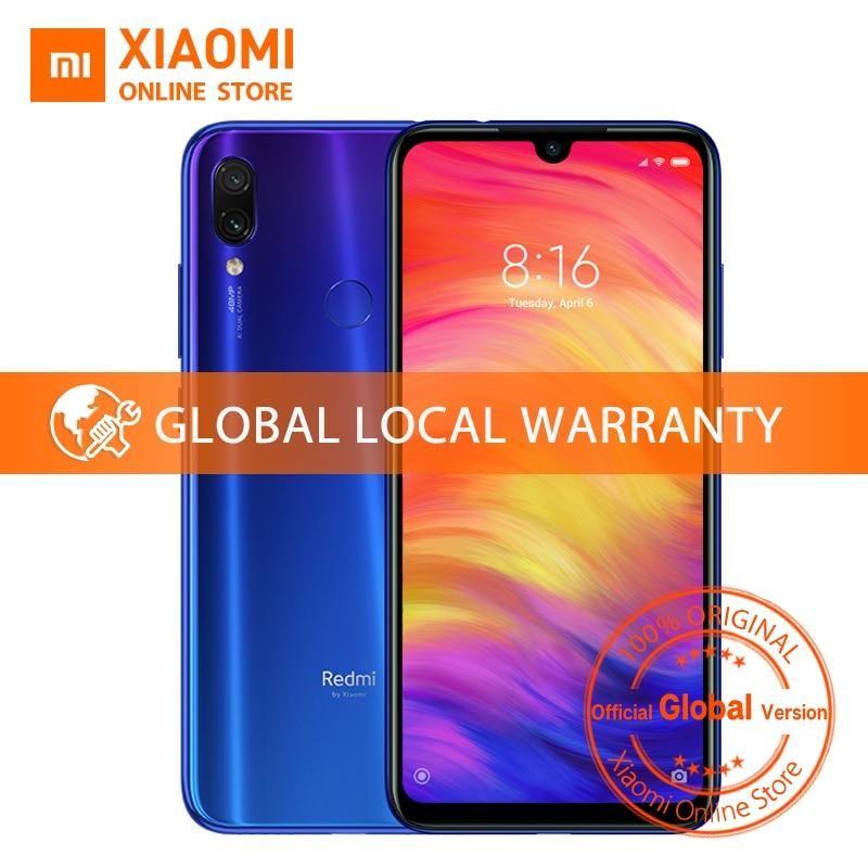 Global version xiaomi redmi note 7 4gb 64gb mobile phone