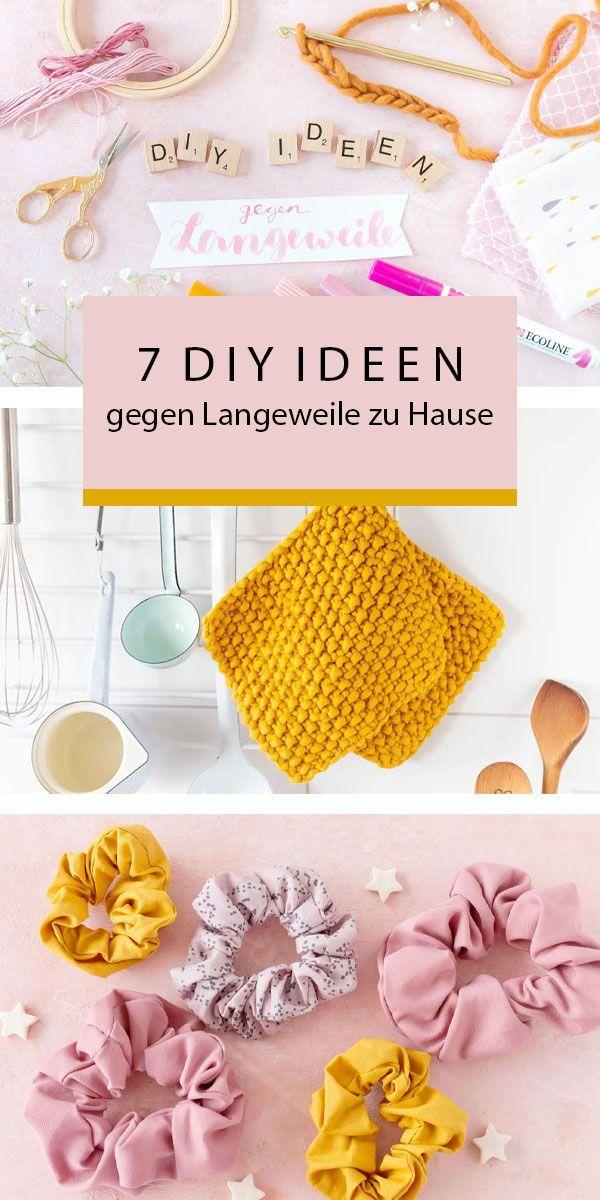 Photo of 7 DIY Ideen gegen die Langeweile zu Hause | ars textura – DIY-Blog