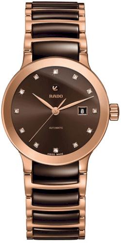 67cda8b78 Women's Rado Centrix Automatic Diamond Ceramic Bracelet Watch, 28Mm  #jewelry #watch