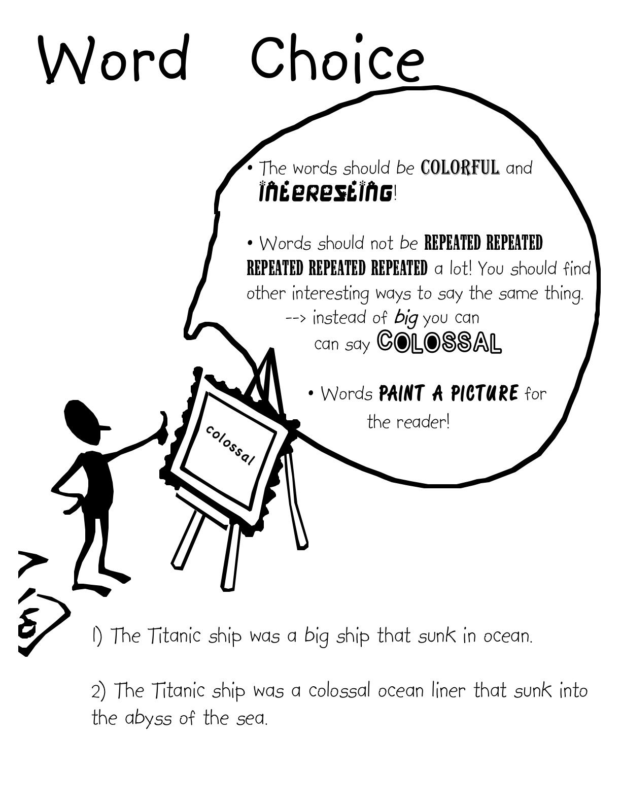 Kid Friendly Explanations Of 6 Traits Of Good Writing