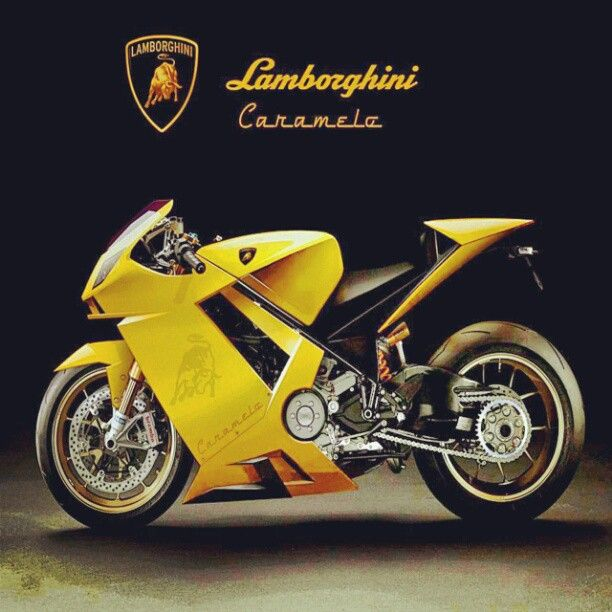 lamborghini motorcycle. i thought ducati was expensive, but the lamborghini motorcycle must be up there. k