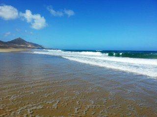 Platz 6:  Playa de Cofete, Fuerteventura, Kanarische Inseln (Spanien)