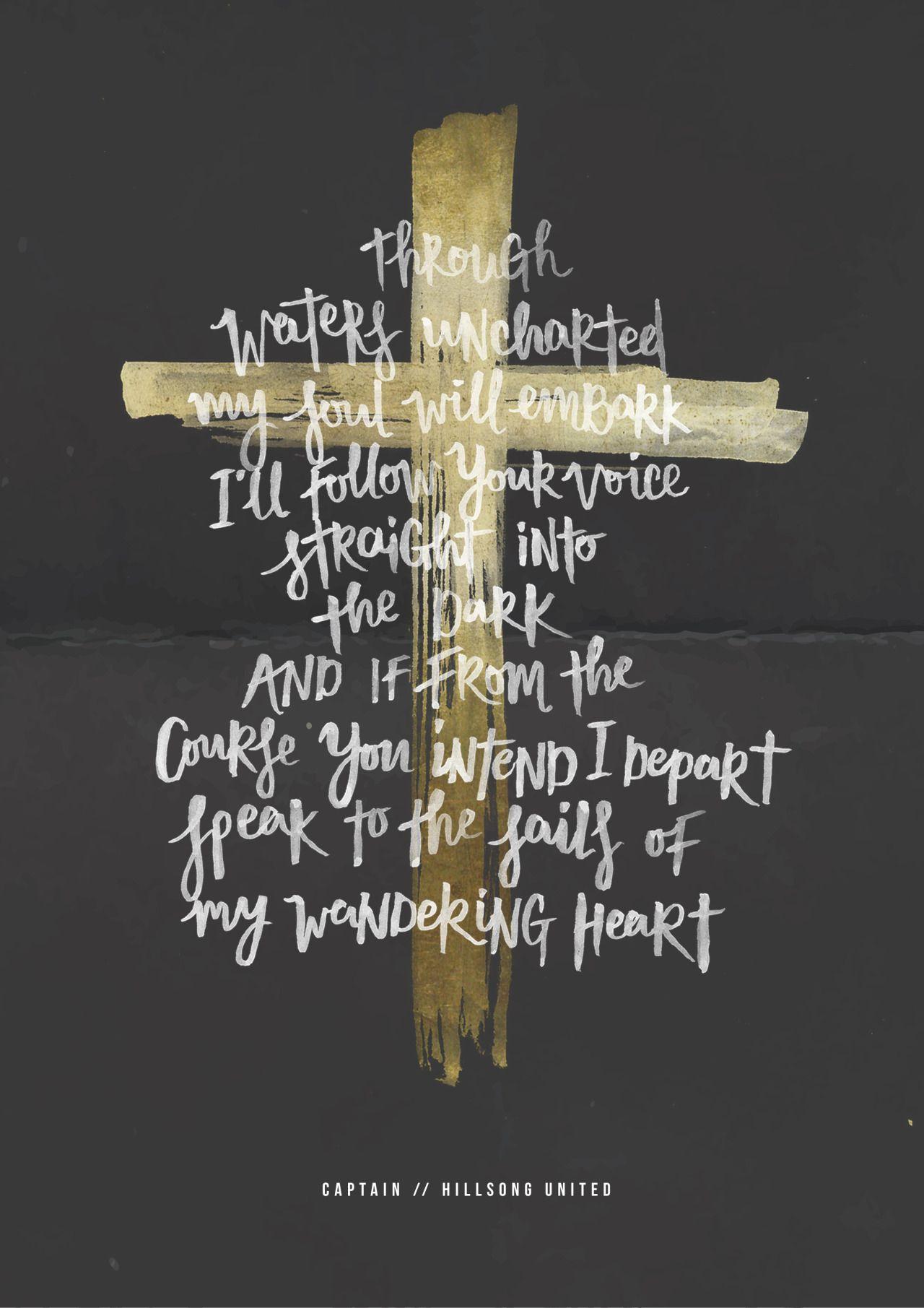 Grace And Mercy Lyrics : grace, mercy, lyrics, Mercy, Grace, Captain, Hillsong, United, Lyrics, Lettering, Hillsong,, Lyrics,