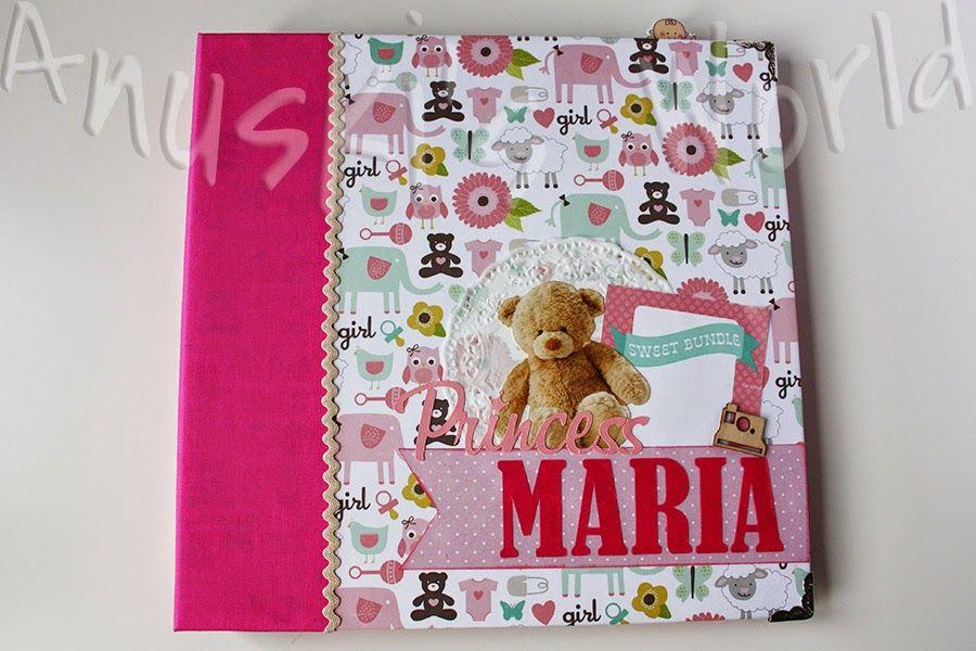Álbum de bebé para María - Anuski´s World