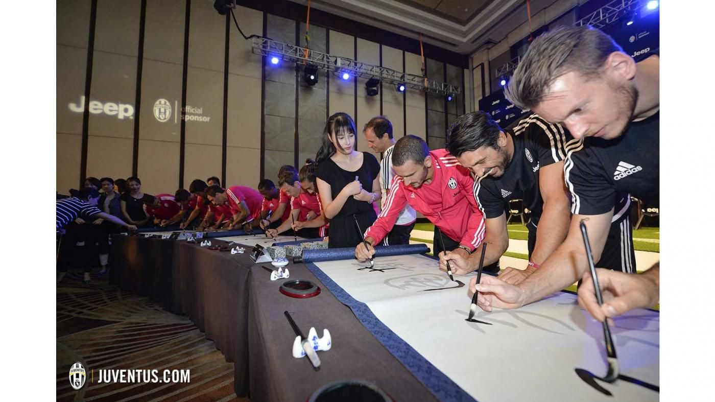 Evento Jeep a Shanghai - Juventus.com