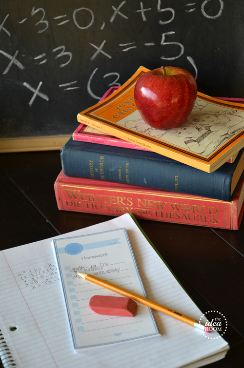 12 Back-To-School Printables - The Idea Room