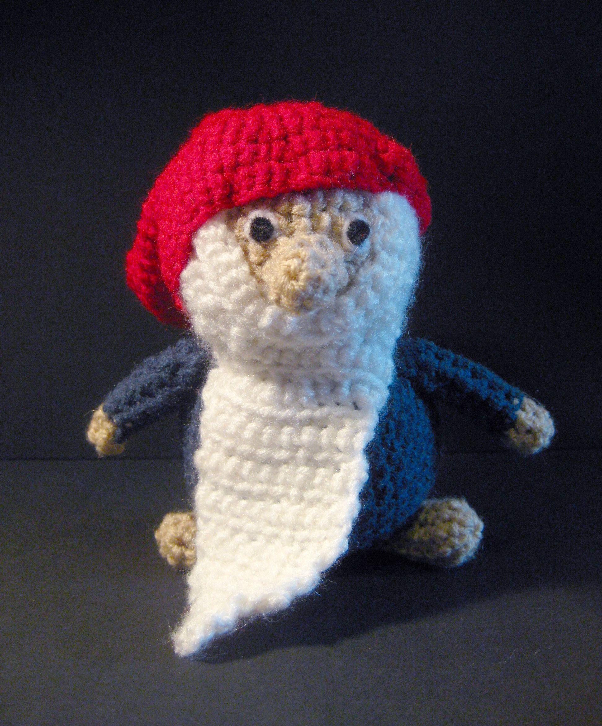 Custom made Swedish Tomten #crochet