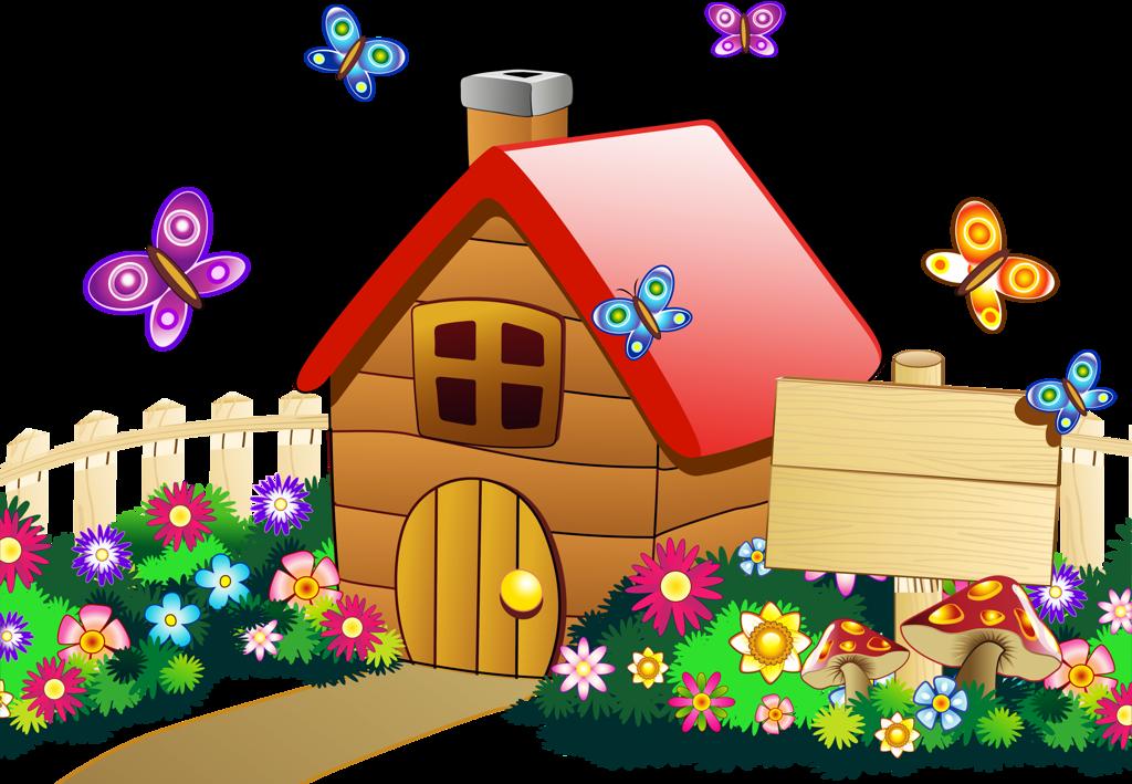 Изображение домика картинка для детей