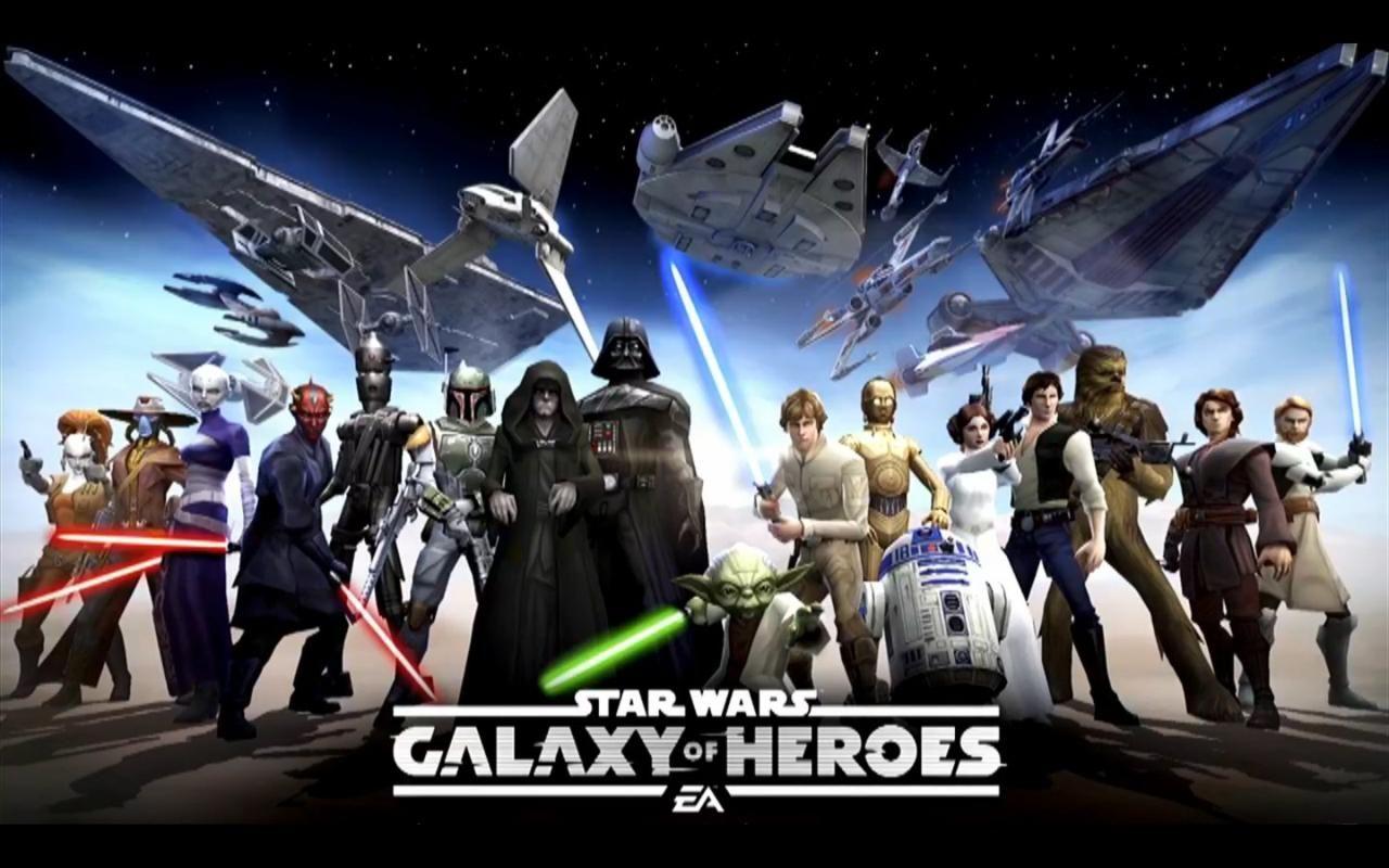 descargar star wars galaxy of heroes hack apk
