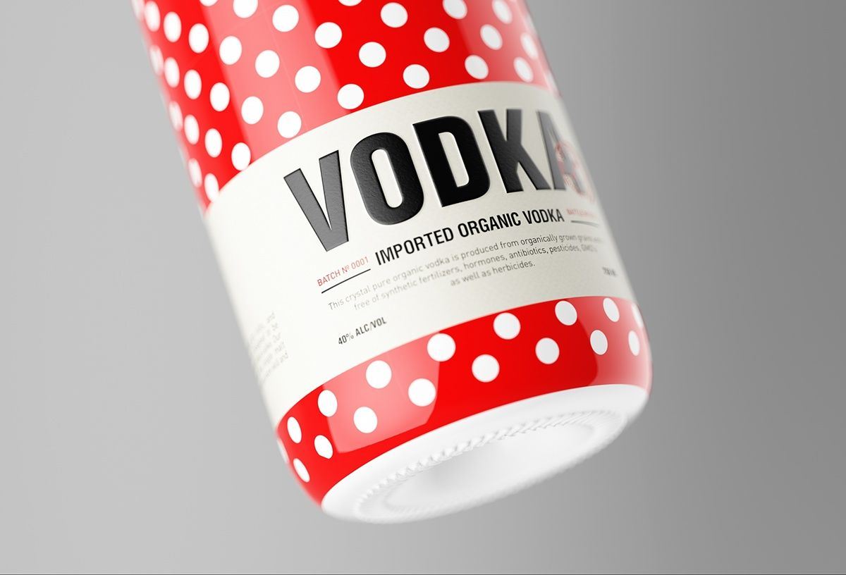 Packaging Design Vodka Dot Abduzeedo Vodka Packaging Packaging Design Creative Packaging Design