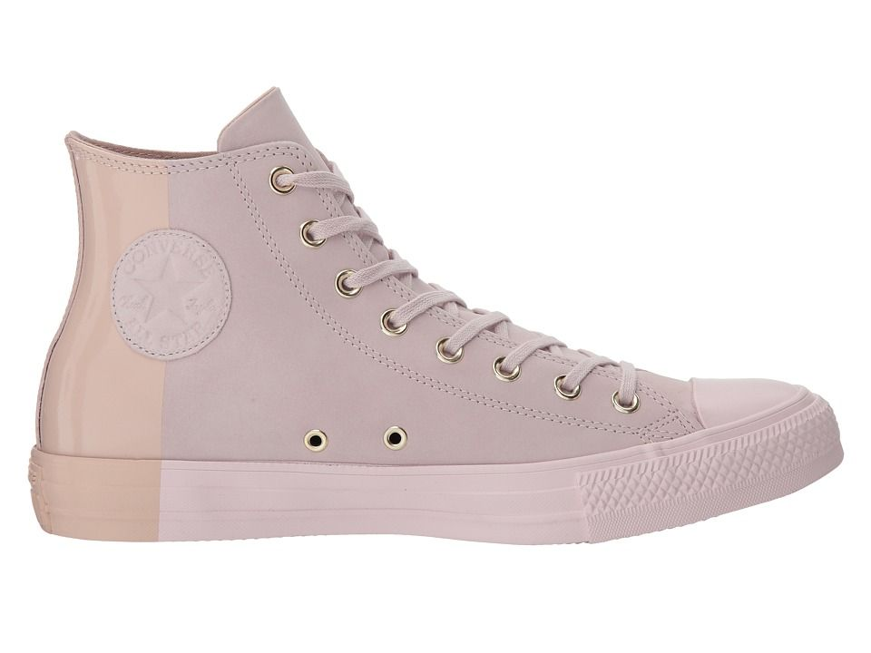 8b63dc620a43 Converse Chuck Taylor(r) All Star Blocked Nubuck Hi Classic Shoes Barely  Rose Barely Rose Particle Beige