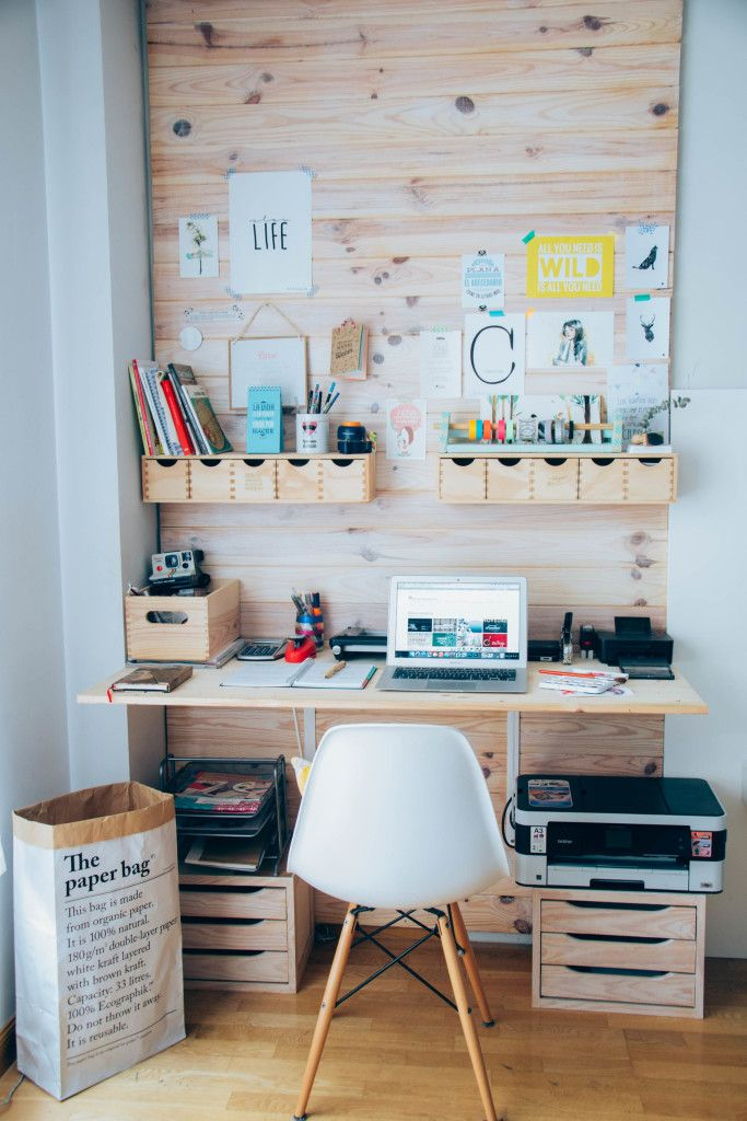 earthy chic workspace of hadas y cuscus office tour office design rh pinterest com
