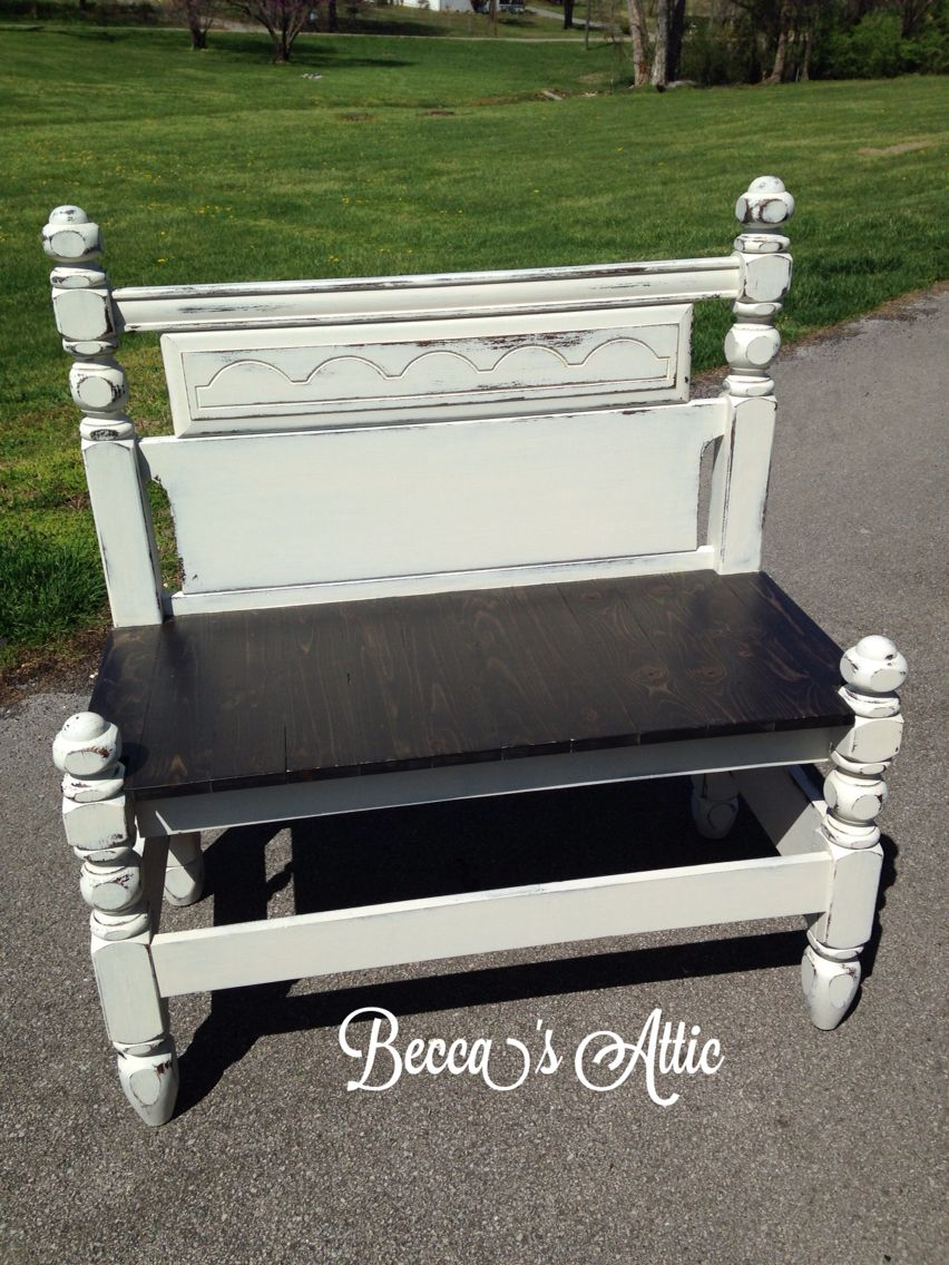*Not For Sale* Custom Built Bench Made From A Full Size Head/footboard