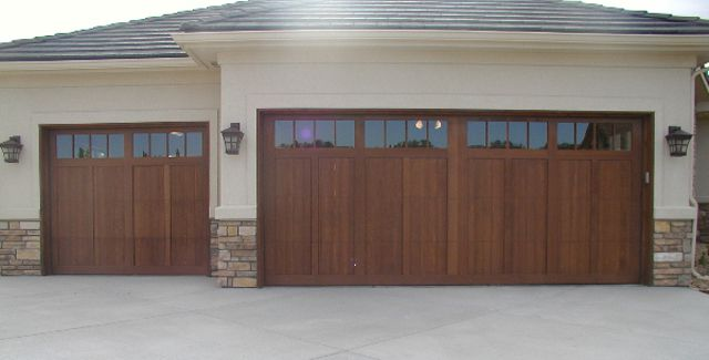 Custom Wood Garage Doors Handcrafted In Denver Co A J Garage