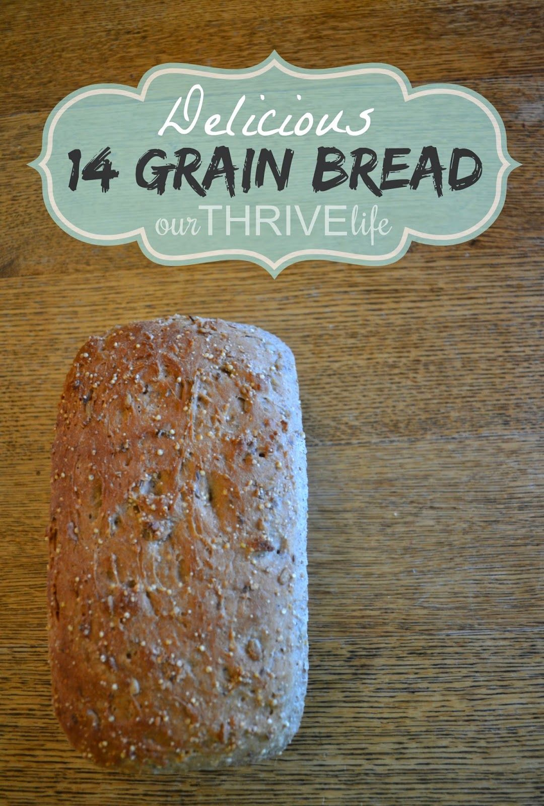 Delicious 14 Grain Bread Recipe Mixer Recipes Stand Mixer