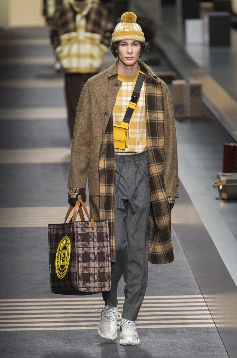 Fendi menus fallwinter u milano moda uomo wintermensfashion