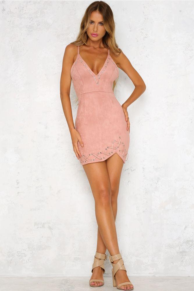 12ea77fec6 Play Dirty Dress Blush Hello Molly