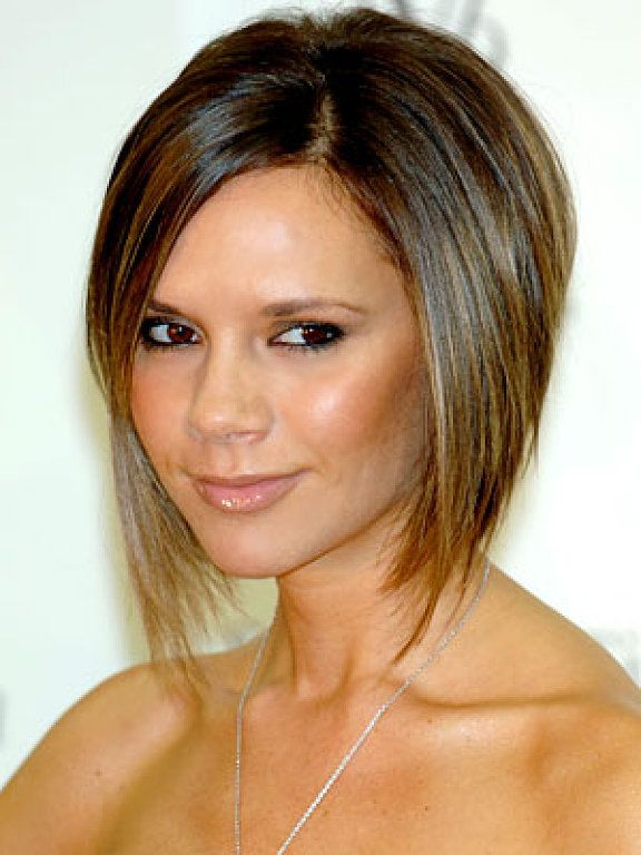 This Edgy Asymmetrical Bob Is Perfect For Women With Thick Hair