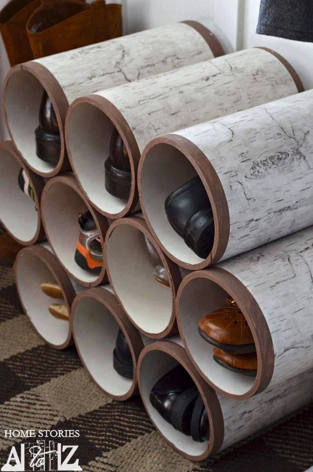 Pin by elizabeth moeller on diy pinterest she places pvc pipes in the bathroom what is created is something very useful diy crafts diy ideas diy crafts do it yourself diy projects home crafts pvc solutioingenieria Choice Image