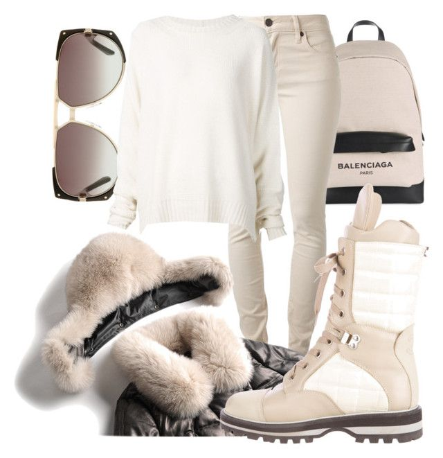 """""""Untitled #154"""" by styledbysixx ❤ liked on Polyvore featuring Christian Dior, Balenciaga, Burberry, Chanel and URBAN ZEN"""