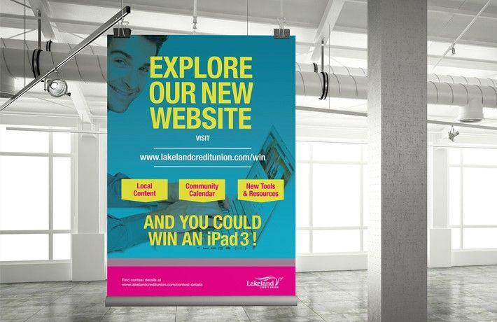Lakeland Credit Union Launch Poster And Campaign Agenda Digital Marketing Brand Marketing Lakeland Digital Marketing