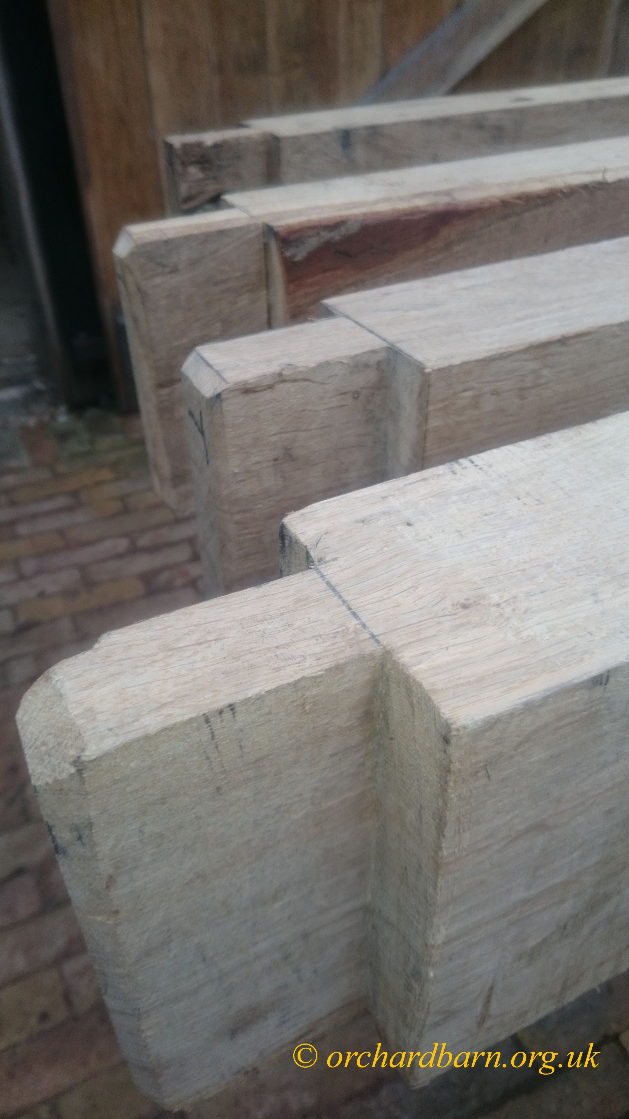 Timber Framing - tenons | Traditional Carpentry | Pinterest ...