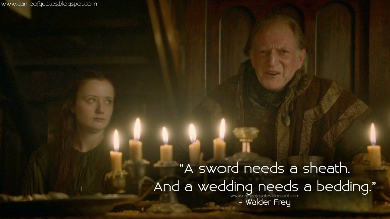 Walder Frey The Red Wedding Of Thrones Season 3