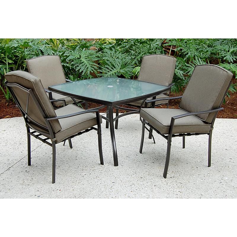 Sc J 250 2nnset Irvington 5 Pc Patio Dining Set Patio Dining Furniture Patio Dining Table Clearance Patio Furniture