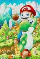 Super Mario World  by Myaco