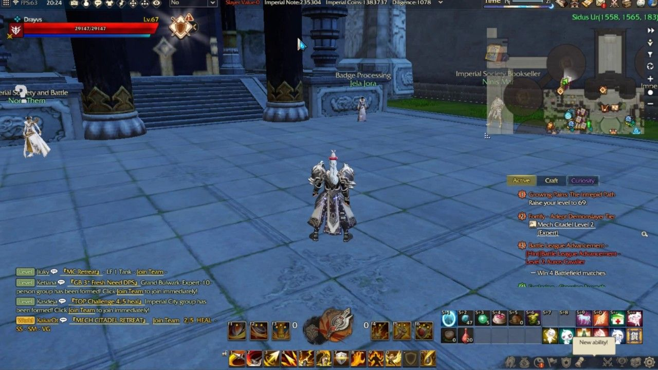 Another way you can Farm Bronze Shards in Revelation Online