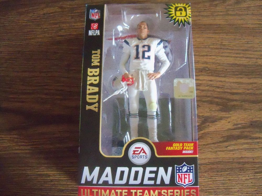 MCFARLANE NFL MADDEN 19 TOM BRADY WALMART EXCLUSIVE FIGURE  sports   actionfigures  figures e235ad278