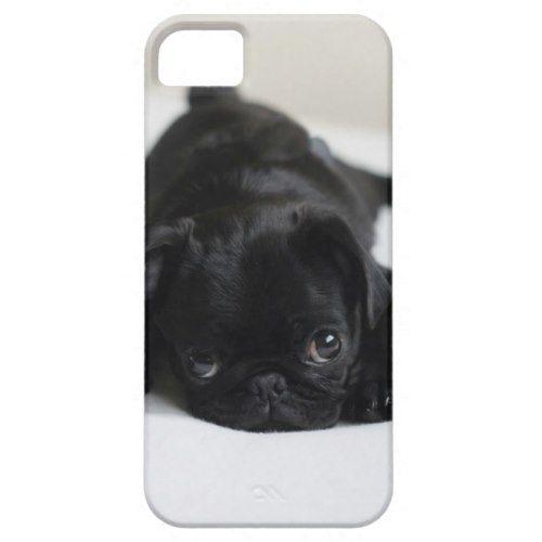Black Pug Puppy Case-Mate iPhone Case   Zazzle.com #cutepugpuppies