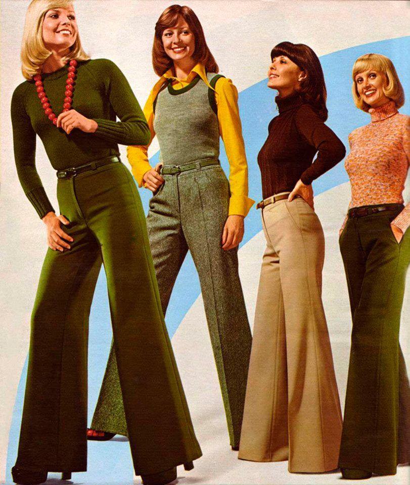 Beroemd Pin van JeeBee . op Fashion jaren 70 in 2019 - Bell Bottoms, 70s #WJ82