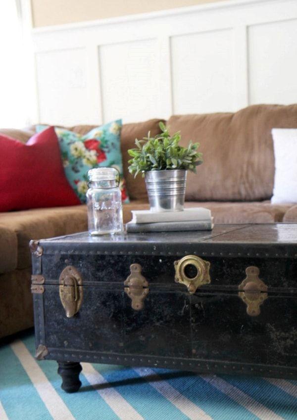 Decora tu casa con ba les ba l antiguo ba l y baul vintage - Baules para exterior ...