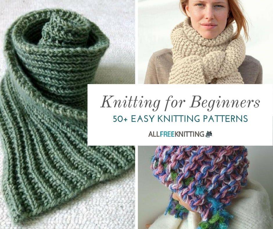 Knitting for Beginners: 50+ Easy Knitting Patterns | Tejido