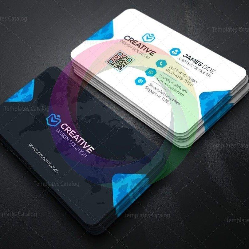Creative Company Business Card Template Graphic Templates Company Business Cards Creative Company Business Card Template