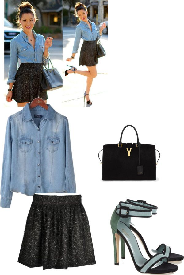 """#Jeans"" by cloclo-1d84 ❤ liked on Polyvore"