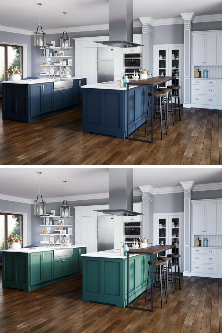 405 Single Bowl Stainless Steel Apron Sink Interior Design Kitchen Mediterranean Kitchen Design Blue Kitchen Cabinets