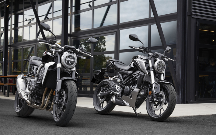 Descargar Fondos De Pantalla Honda CB300R, 4k, Honda