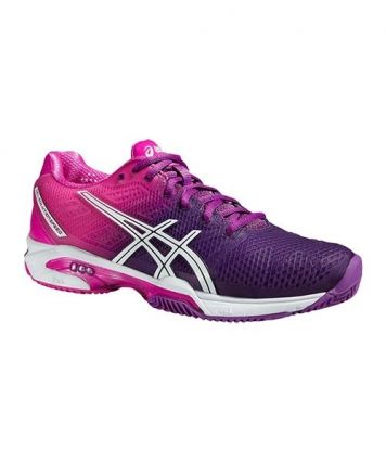 Asics gel solution speed 2 clay purpura womens | Asics ...