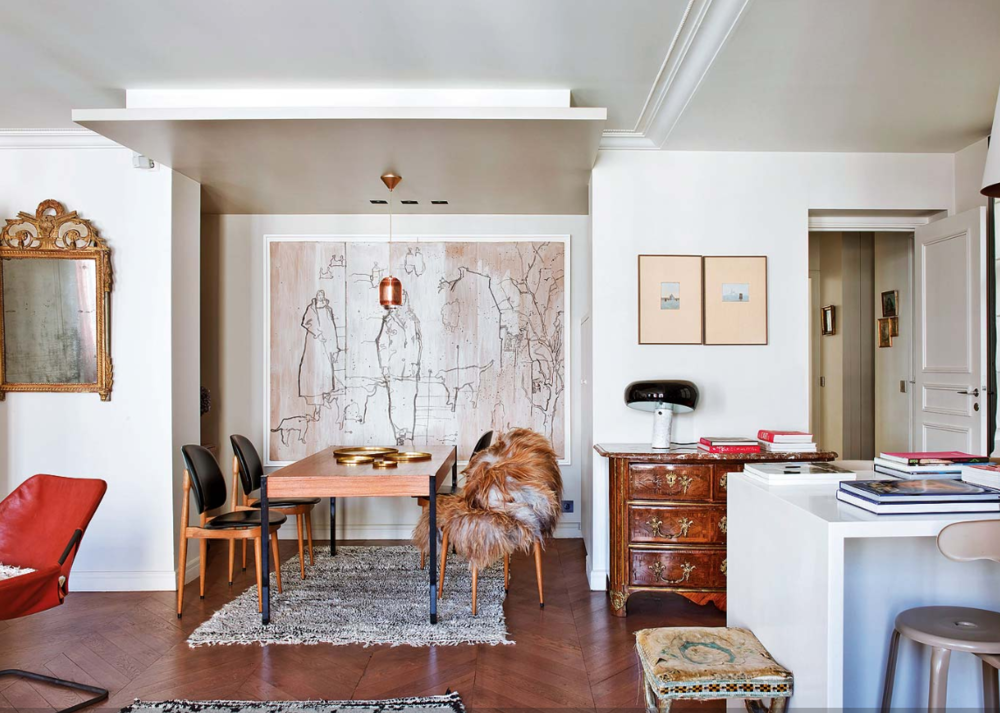 At Home In Paris With Caroline Gayral Interiors Home