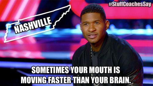 Nashville is a state… #TheVoice #StuffCoachesSay