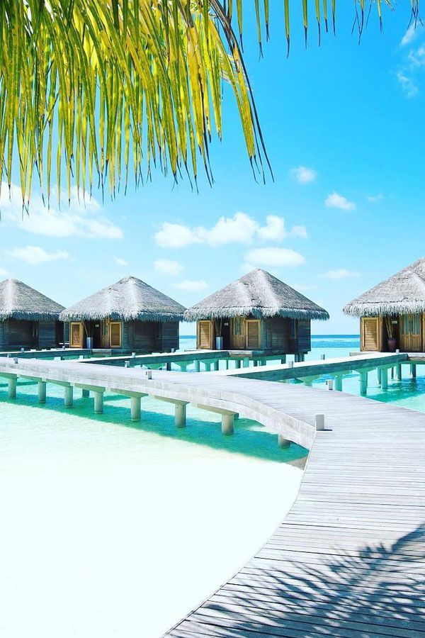 Nine Overwater Bungalows To Escape Your Winter Blues: Beautiful Water Villas In The Maldives