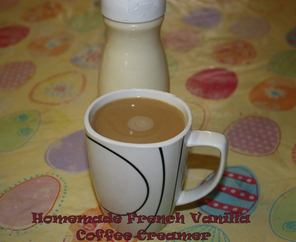 Homemade French Vanilla Coffee Creamer recipe. Looking for healthier options. Make your own! I changed recipe to fat-free sweetened condensed milk, ...