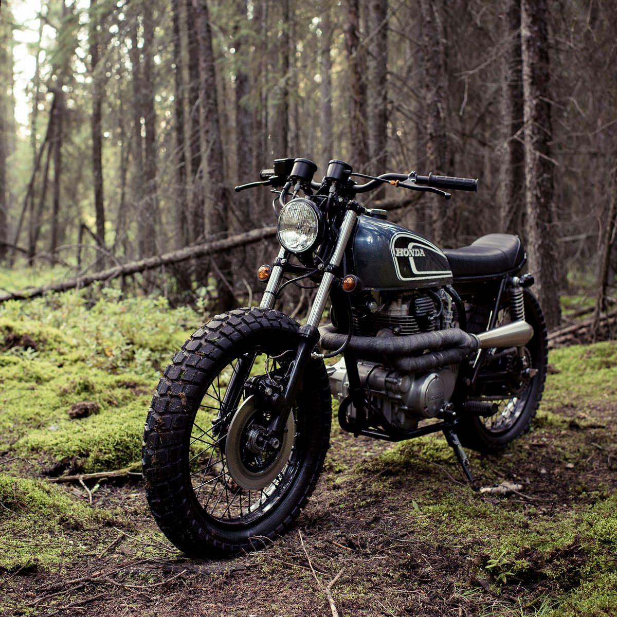 Honda CB360 by Federal Moto | Moto bike, Cool bikes, Scrambler