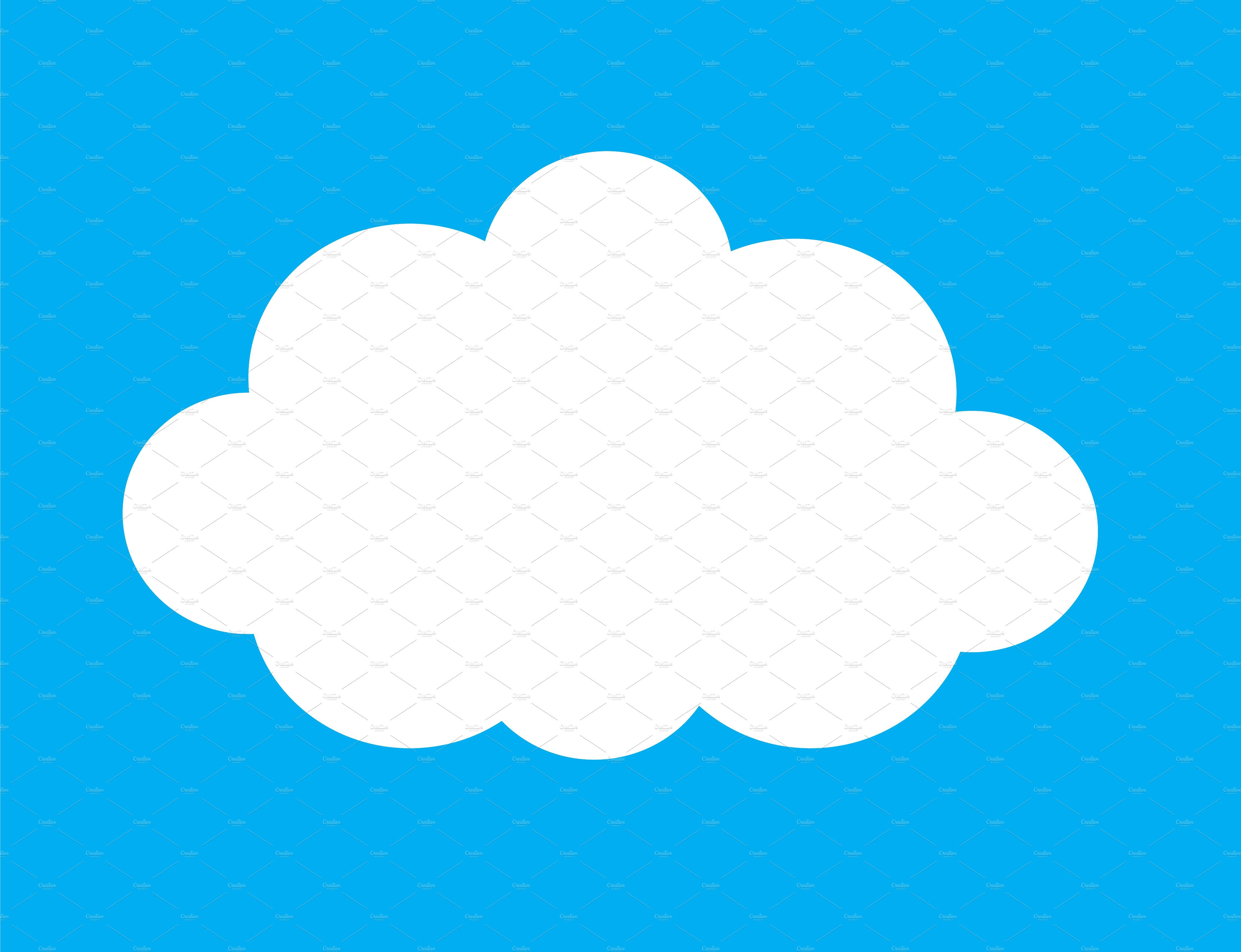 Set Of White Clouds Vector Cloud Vector White Clouds Clouds