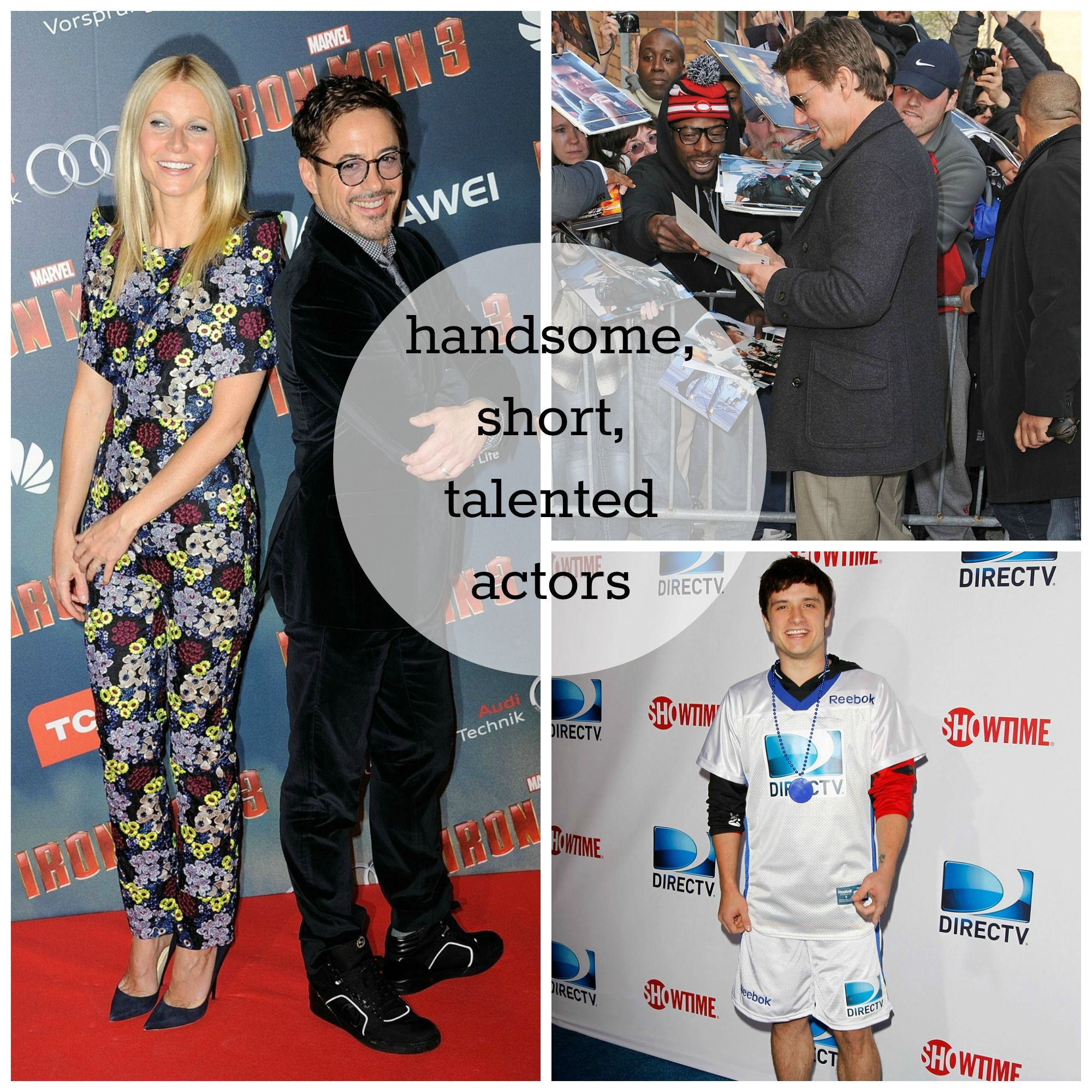 Handsome, Talented, Short Actors We Love (great read for those that love short men!)