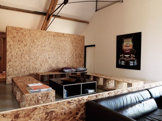 Wall Paneling Interior   OSB furniture   Pinterest   Interiors ...