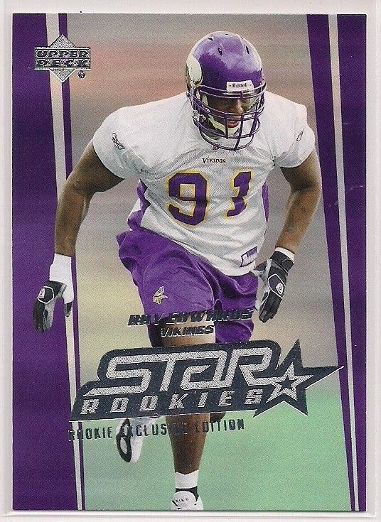 2006 Upper Deck Star Rookies Ray Edwards Rookie exclusive edition card # 270 #MinnesotaVikings
