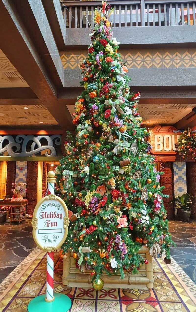 Our Favorite Disney World Resort Christmas Decorations In